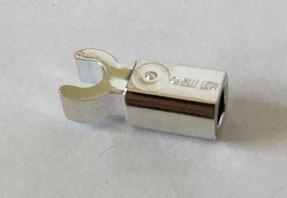 Chrome Silver Bar Holder with Clip  Part: 11090  Custom Chromed by BUBUL