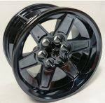 15038_T Chrome Black Chrome-Titan   Wheel 56mm D. x 34mm Technic Racing Medium    part: 15038  Custom Chromed by Bubul