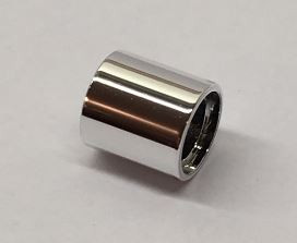18654 Chrome Silver Technic, Pin Connector Round 1L 18654 Custom Chromed by BUBUL