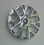 Chrome Silver Wheel Cover 7 Spoke Y Shape - for Wheel 18976  18979 18979b Custom Chromed by BUBUL
