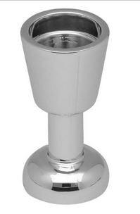 Chrome Silver Minifig, Utensil Goblet   2343 Custom chromed by Bubul