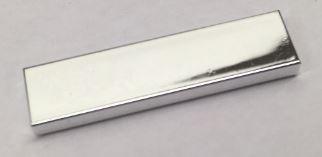 2431 Chrome Silver Tile 1 x 4   Part:2431 chromed by Bubul