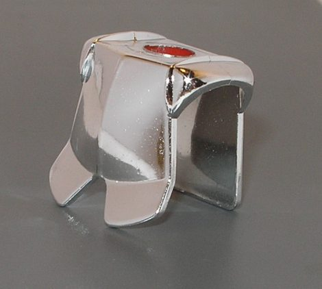 2587_Chrome Silver Minifig, Armor Breastplate with Leg Protection  partr: 2587 Chromed by Bubul