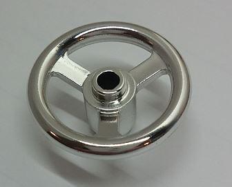2819 Chrome Silver Technic, Steering Wheel Small, 3 Studs Diameter   Part:2819  chromed by Bubul