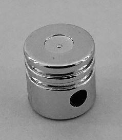 2851 Chrome Silver Technic Engine Piston Round   Part:2851 Custom chromed by Bubul