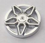 29117 Chrome Silver Wheel Cover 5 Spoke Framed - for Wheel 18976  29117b Custom Chromed by BUBUL