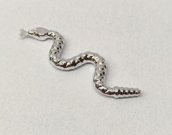 Chrome Silver Snake   Part:30115 chromed by Bubul