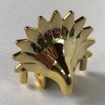 30276 Chrome Gold Minifigure, Headgear Headdress Jungle  Custom Chromed by BUBUL