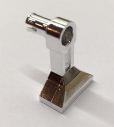 Chrome Silver Leg Mechanical, Droid with Technic Pin   30362   Custom Chromed by BUBUL