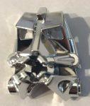 32553 Chrome Silver Bionicle Head Connector Block 3 x 4 x 1 2/3 Custom Chromed by BUBUL