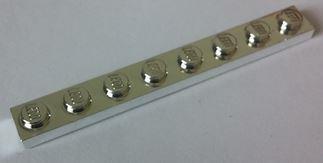 3460 Chrome Silver Plate 1 x 8 Original   part: 3460 Custom chromed by Bubul