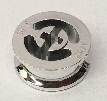 Chrome Silver Wheel with Split Axle hole  3482 Custom Chromed by BUBUL