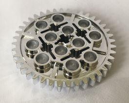 3649 Chrome Silver Technic, Gear 40 Tooth or 34432 chromed by Bubul