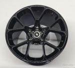 37383_T Chrome Black Chrome-Titan Wheel 62.3mm D. x 42mm Technic Racing Large part 37383 Custom Chromed by Bubul