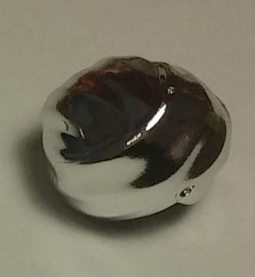 Chrome Silver Minifig, Headgear Turban   40235  Custom Chromed by Bubul
