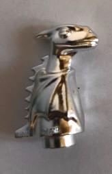 Chrome Silver Dragon, Baby (Norbert)  41535 Custom Chromed by BUBUL