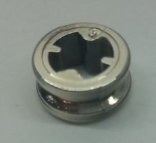 Chrome Silver Technic Bush 1/2 Smooth   Part: 4265c or 32123  Custom Chromed by Bubul