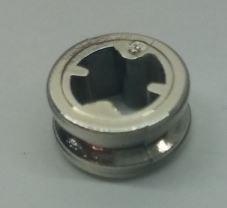 Chrome Silver Technic Bush 1/2 Smooth   Part: 4265c or 32123 or 42136  Custom Chromed by Bubul