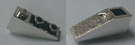Chrome Silver Slope, Inverted 33 3 x 1  4287 Custom Chromed by BUBUL