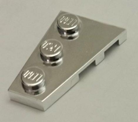 Chrome Silver Wedge, Plate 3 x 2 Left   43723  Custom chromed by Bubul