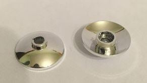 4740_Chrome Silver Dish 2 x 2 Inverted (Radar)  4740 or 71874 or 30063 Custom Chromed by BUBUL
