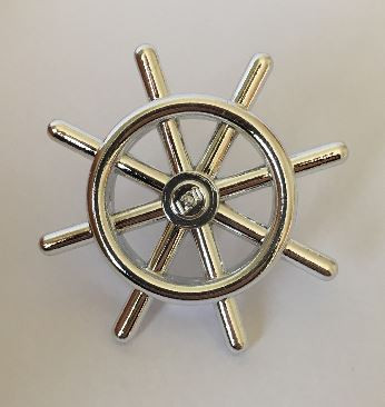 Boat Ship's Wheel Item No: 4790 Custom Chromed by BUBUL