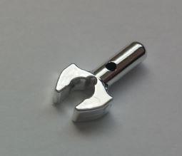 Chrome Silver Bar 1L with Clip Mechanical Claw  48729 or 41005 Custom Chromed by Bubul