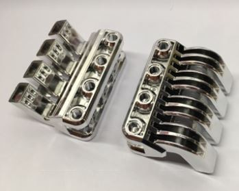 Chrome Silver Technic Engine RC Car Quadruple Pipe   49828  Custom Chromed by BUBUL