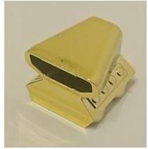 Chrome Gold Vehicle, Air Scoop Top 2 x 2 Original LEGO(R) Part:  50943 Custom chromed by Bubul