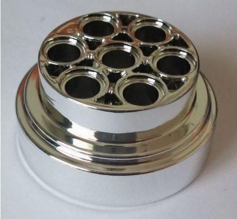 Chrome Silver Wheel 31mm D. x 15mm Technic  60208 or 2695 Custom chromed by Bubul