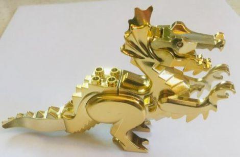 6129 Chrome GOLD Dragon, Classic  6129 6129c02  Custom Chromed by BUBUL