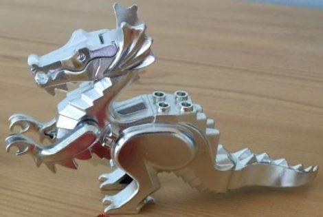 6129 Chrome Silver Dragon, Classic  6129 6129c02  Custom Chromed by BUBUL