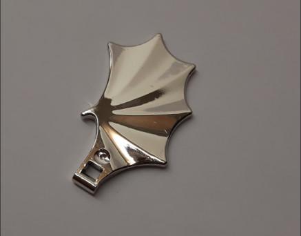 6133 Chrome Silver Dragon Wing Custom Chromed by Bubul