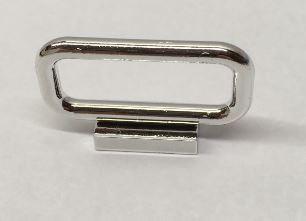 6187 Chrome Silver Bar 1 x 4 x 2  6187 Custom Chromed by BUBUL