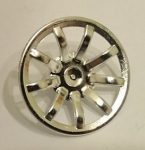 62701 Chrome Silver Wheel Cover 9 Spoke - 24mm D. - for Wheel 55982   part: 62701  Custom chromed by Bubul