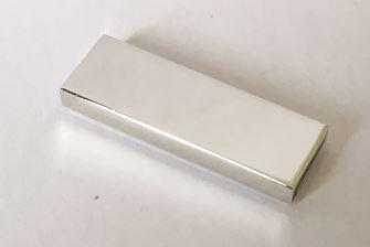 63864 Chrome Silver Tile 1 x 3   63864  Custom Chromed By BUBUL