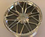 68577 Chrome Silver Wheel 62.3mm D. x 42mm Technic Racing Large with 10 'Y' Spokes SIAN Custom Chromed by Bubul Lamborghini Sian rim