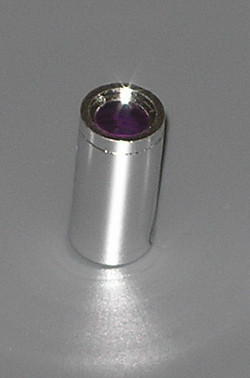 Chrome Silver Technic, Pin Connector Round (Pin Joiner Round)    Part:75535 Custom chromed by BUBUL