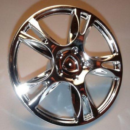 Chrome Silver Wheel Cover 5 Spoke Thick - for Wheel 56145    85969  Custom chromed by Bubul