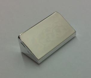 85984 Chrome Silver Slope 30 1 x 2 x 2/3  Custom Chromed by BUBUL