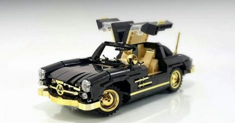 Tuning Pack_GOLD for Mercedes_Gullwing