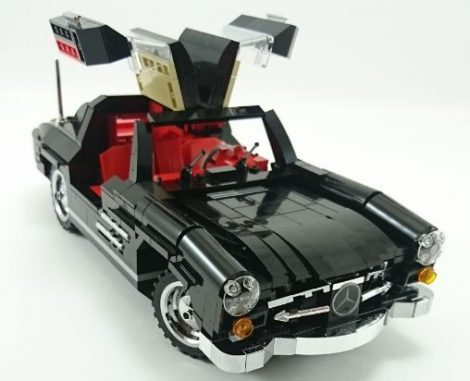 Tuning Pack_SILVER for Mercedes_Gullwing